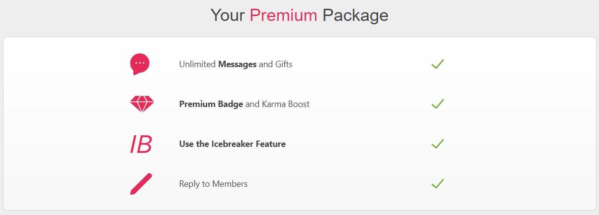 Fuckbook Premium Features